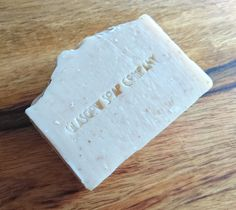 Oatmeal Milk and Honey Handmade Soap Scottish Fragrance Free Sensitive Skin Goats Milk Exfoliate Oatmeal Cold Processed No SLS or…