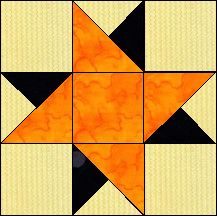 Block of Day for March 18, 2016 - Castle-strip piecing..The pattern may be downloaded until: Thursday, March 31, 2016.
