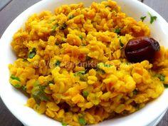 Rajasthani Mogar (Split Yellow Gram with Raw Mango) | Vegetarian Khana