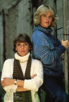 Still of Tyne Daly and Sharon Gless in Cagney & Lacey (1981)