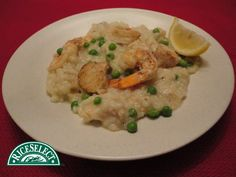 How @kzarr on Twitter rethinks rice: Seafood Risotto featuring RiceSelect #RethinkRice #Sweeps #RiceSelect #Recipe #Rice