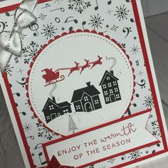 Stamped Sophisticates: Hearts Come Home Stamp set from Stampin' Up!