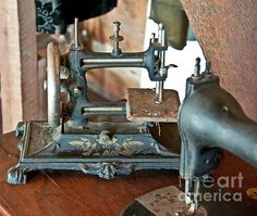 Antique Sewing Machines Fine art print