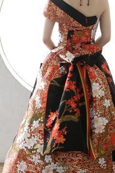 和ドレス・ウエディングドレスのドレスオーダー・レンタルドレスはアリアンサ|和ドレス・晴空