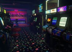 Neon Aesthetic, Aesthetic Vintage, Nostalgia, Las Vegas, Retro Arcade, Vr Games, Tori Vega, Weird Dreams, American Graffiti