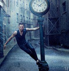 Channing Tatum Dances in the Rain