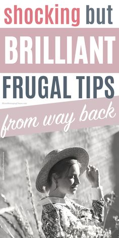 In this post I'll show you 14 frugal living tips from the Great Depression you must try, that are beyond brilliant, so you can master Frugal Living. Curious what it would be like to take your frugal lifestyle or how to be frugal to be the next level? The head over to the blog to read this post. Don't forget to save it to your board on ways to save money so you can easily refer to it later. Ways to save money frugal living | Ways to save money frugal living tips | Money saving ideas frugal…