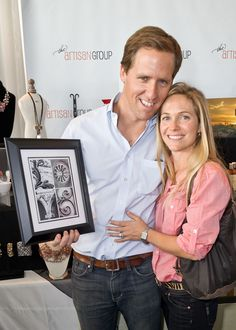 "Oscar and Golden Globe Nominee Nat Faxon (Best Writing, Adapted Screenplay, ""The Descendants"") with Java Jane Designs."