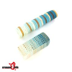 Free polymer clay tutorial from Bettina Welker: The Pixelated Retro Blend Cane.