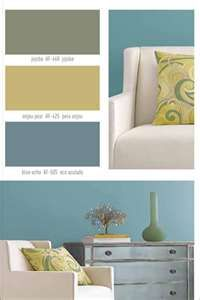 """favorite """"calm"""" color scheme  ♥ for our new apartment next year"""