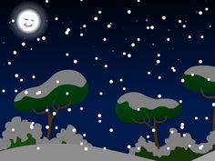 Chanson Douce nuit illustrée à imprimer gratuitement