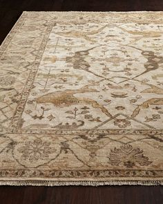 H7JC1 Exquisite Rugs Hedrick Oushak Rug, 12' x 15'