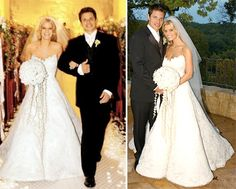 Stars who wore vera wang wedding gowns nick lachey jessica love jessicas old dress celebrity wedding dressescelebrity weddingsjessica simpson junglespirit Images