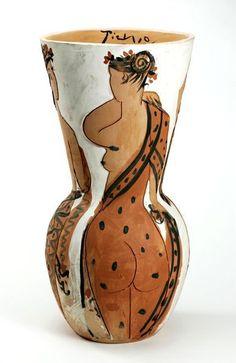 Pablo Picasso, Ceramic Vase on ArtStack #pablo-picasso #art