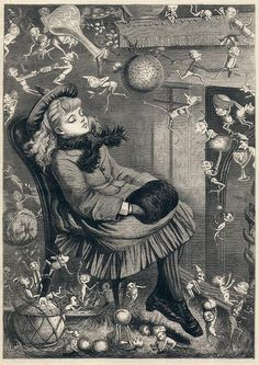 Christmas Dream by Kate Greenaway 1874