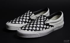b47f6f1b3703ea Vans Celebrats 50 Years with Woven Checkerboard Slip-Ons Vans Slip On