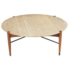 Bruno Mathsson, Coffee Table for Dux, 1950s.
