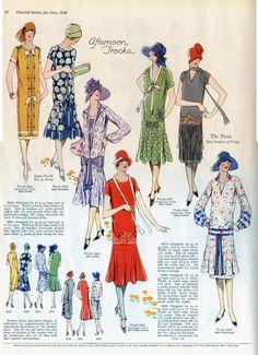 Dress patterns 1926