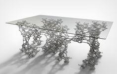 Daniel WidrigSteel (3D printed / SLM) 2.25m x 1.15m x 0.72m