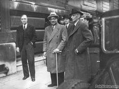 Mohammad Ali Jinnah along with Liaquat Ali Khan, a photo taken on the occasion of his visit to London.