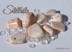 Using Stilbite crystals during quiet reflections can help clear the mind of clutter so you can realize your true desires & experience bliss. #stilbite #shift http://wandavirgo.com