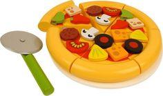 Bigjigs Toys Drevená krájacia pizza