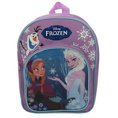 – nylon backpack- zip front pocket- adjustable shoulder straps- approx 30cm x 23cm x 10cm- with a swing tag- official licensed product #disneyfrozen #frozengifts #frozenmerchandise #frozenthemovie #frozen #birthday #gift