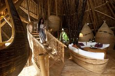 Increíbles casas de bambú por Ibuku - Antidepresivo