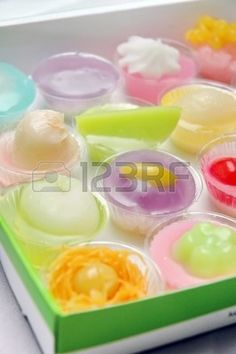 KhaNom Sa Li or Thai Steamed Egg Cake is one of the