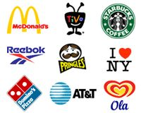 McDonald's, TiVo, Starbucks, Reebok, Pringles, Domino's, AT&T, Ola combination mark logos - research and discovery about Logos in general.