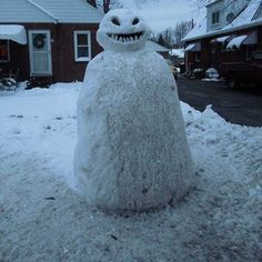 Real Snowman #doctorwho