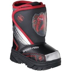 Toddler Boy's Spiderman Boot - Black