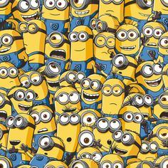 This official Despicial Me Wallpaper features an army of cheeky Minions. Perfect for Minions fan's bedrooms! Minion Wallpaper Iphone, Disney Phone Wallpaper, Best Iphone Wallpapers, Funny Wallpapers, Cartoon Wallpaper, Minions Friends, Minions Fans, Cute Minions, My Minion