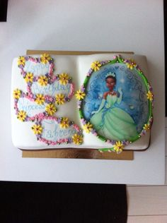 Princess cake. Vanilla cake with chocolate and caramel filling.