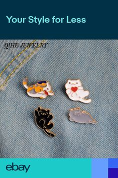 Home & Garden Animal Beautiful Bird Unicorn Metal Brooch Button Pins Denim Jacket Pin Jewelry Decoration Badge For Clothes Lapel Pins Large Assortment Apparel Sewing & Fabric