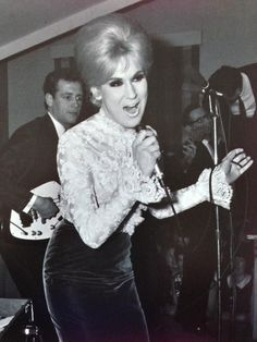 Dusty Springfield - gorgeous lady, amazing singer. Sadly, she died in 1999 of breast cancer.
