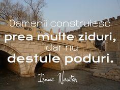 Prea multe ziduri, prea puține poduri.