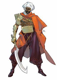 Fantasy Character Design, Character Design Inspiration, Character Concept, Character Art, Concept Art, Character Ideas, Black Characters, Dnd Characters, Fantasy Characters