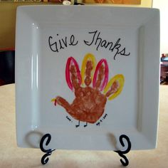 Give Thanks Turkey-the site for this no longer exists. A search on the web says use Folk Art Paints. I worry about toxins and whether paint is washable. I opted for a pine plaque, sand plaque, spray a clear base, dry, apply all the painted foot/hand characters you want with non-toxic washable paint, dry, and spray a clear over coat. Much better!!