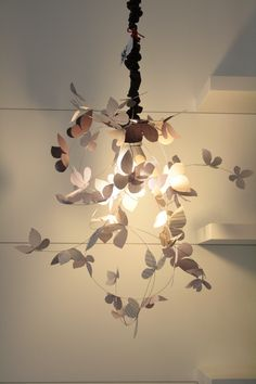 #farfalle#lampada#atmosfera#laranachesalta
