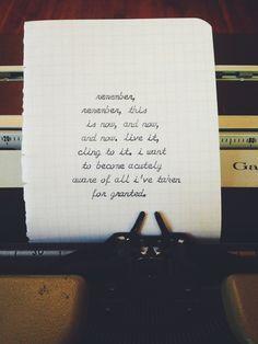 Sylvia Plath. Typewriter. Cursive.