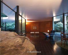 Oscar Niemeyer: house in Canoas, Brazil, 1953