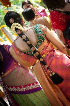 Traditional Hair Do, for more ideas view here #Shaadi #shaadimagazine