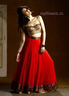 MyShaadi.in > Indian Bridal Wear by http://ArpitaMehta.In/ - https://www.facebook.com/pages/Arpita-Mehta/482620718455205