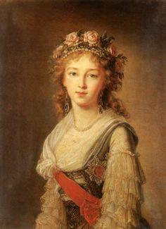 Elizabeth Alexeievna Empress of all the Russias, wife of Emperor Alexander I