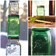 Get inspired by our new Spring Green Heritage Collection Ball jars.  #contest #heritagecollection