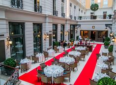 #RedWalk. Take your place in the front row as internationally-acclaimed Hungarian designer Barbara Léber presents her latest collection in the framework of a four-course dinner. http://www.corinthia.com/hotels/budapest/destination/whats-on/red-walk/?id=8888