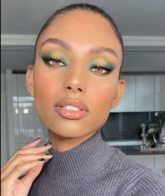 Glam Makeup, Cute Makeup, Pretty Makeup, Eyeshadow Makeup, Eye Makeup Art, Stunning Makeup, Makeup Artistry, Maquillage Black, Maquillage On Fleek