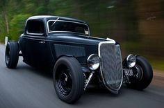 I like seeing old cars