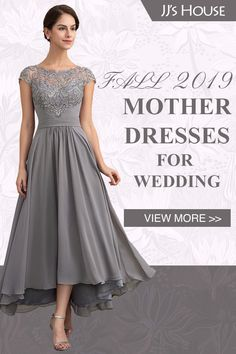 A-Line Scoop Neck Asymmetrical Chiffon Lace Mother Party Dress Source by cobesha of the bride dress Mother Of The Bride Dresses Long, Mother Of Bride Outfits, Mothers Dresses, Mother Of The Groom Hair, Mother Of The Bride Looks, Mother Of The Bride Fashion, Bride Groom Dress, Bride Gowns, Grooms Mom Dress